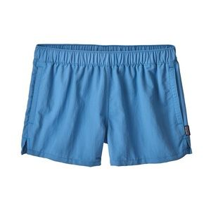 Patagonia Women's Sky Blue Swim Shorts w/pockets